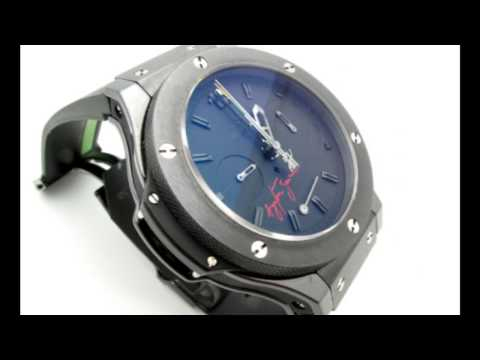 Hublot Big Bang Ayrton Senna Rattrapante Split Second Chrono