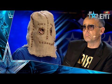 Download El TERRORÍFICO mago enmascarado que HA ASUSTADO a todos | Audiciones 2 | Got Talent España 2021