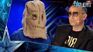 The TERRORIFIC masked wizard who has SCARED everyone | Auditions 2 | Spain's Got Talent 2021