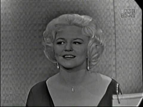 What's My Line? - Peggy Lee; Ben Gazzara [panel]; Martin Gabel [panel] (Feb 28, 1960)