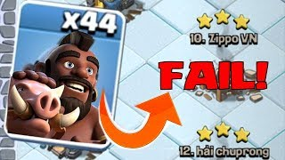 """NEVER LET THIS HAPPEN TO YOU!!! """"Clash Of Clans"""" FAIL x4!!"""