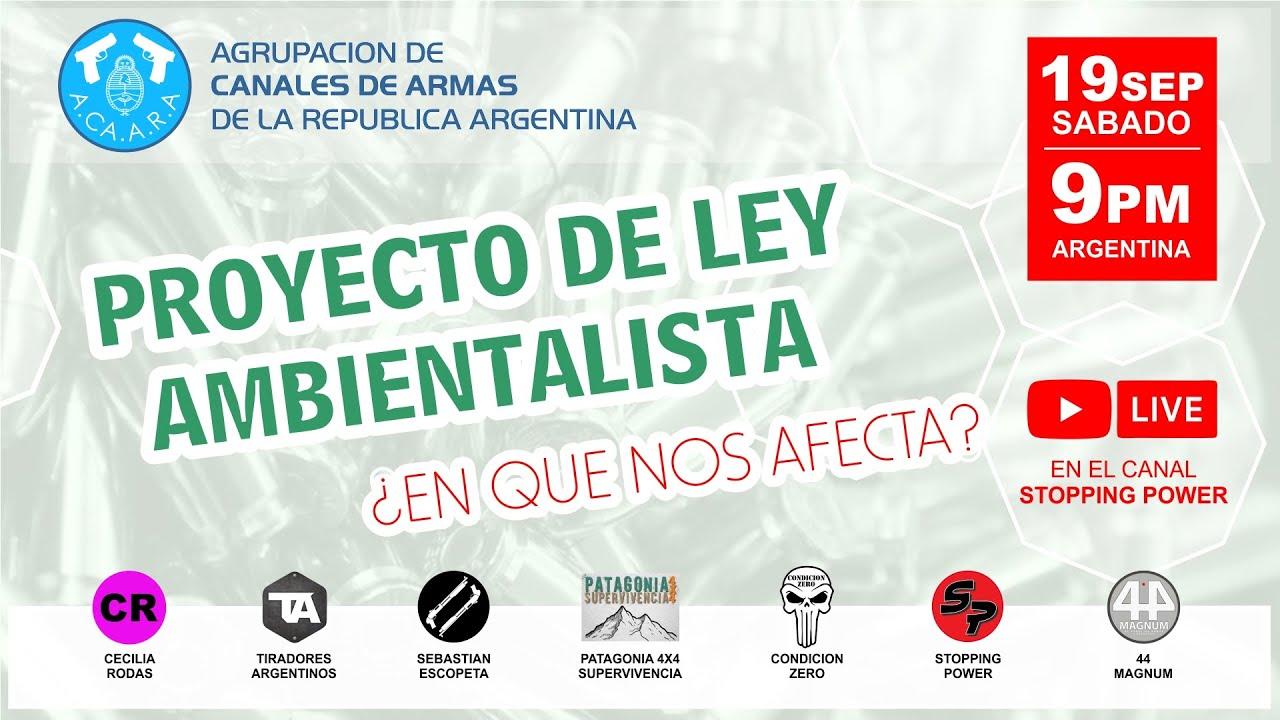 PROYECTO DE LEY AMBIENTALISTA ¿en qué nos afecta?