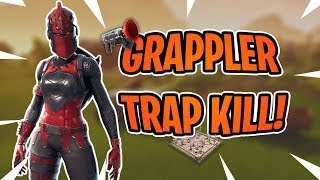 Crazy Game with a Grappler Trap Bait Kill (Fortnite Battle Royale Gameplay - Svennoss)