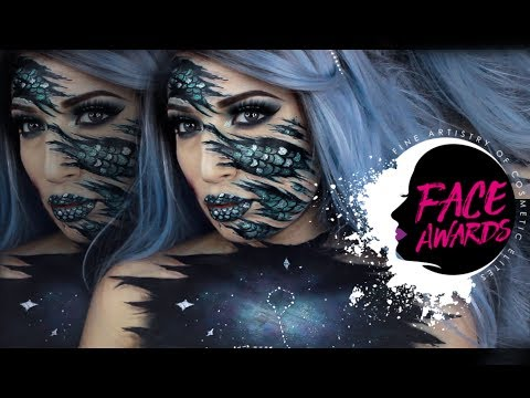 HOOKED FISH | ''ZODIAC INSPIRED'' NYX FACE AWARDS ITALY 2017 | MelissaTani