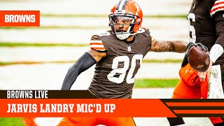 Jarvis Landry Mic'd Up vs. Steelers | Cleveland Browns