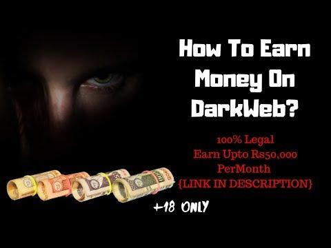 How To Earn Money On DARKWEB! Method#1 [Darkweb Money Earning Method]