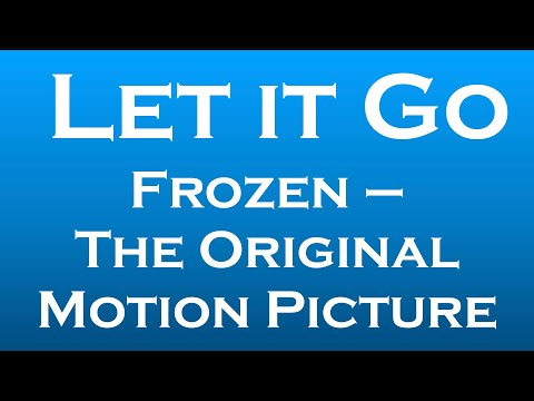Let it Go (Frozen) – Bilingual Karaoke And Tutorial For Students Of German thumbnail