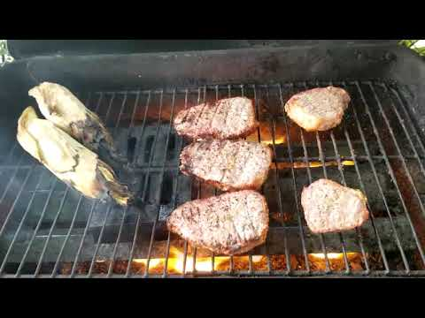 Grilled Eye Of Round Steaks