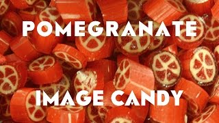 #40 The satisfying process of making pomegranate Victorian image candy