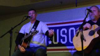 darryl worley s have you forgotten performed live at the uso fort drum 12 13 13