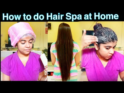How to do Hair Spa at Home ( Hindi ) | Salon Style Hair Spa at Home for Dry & Damaged Hair