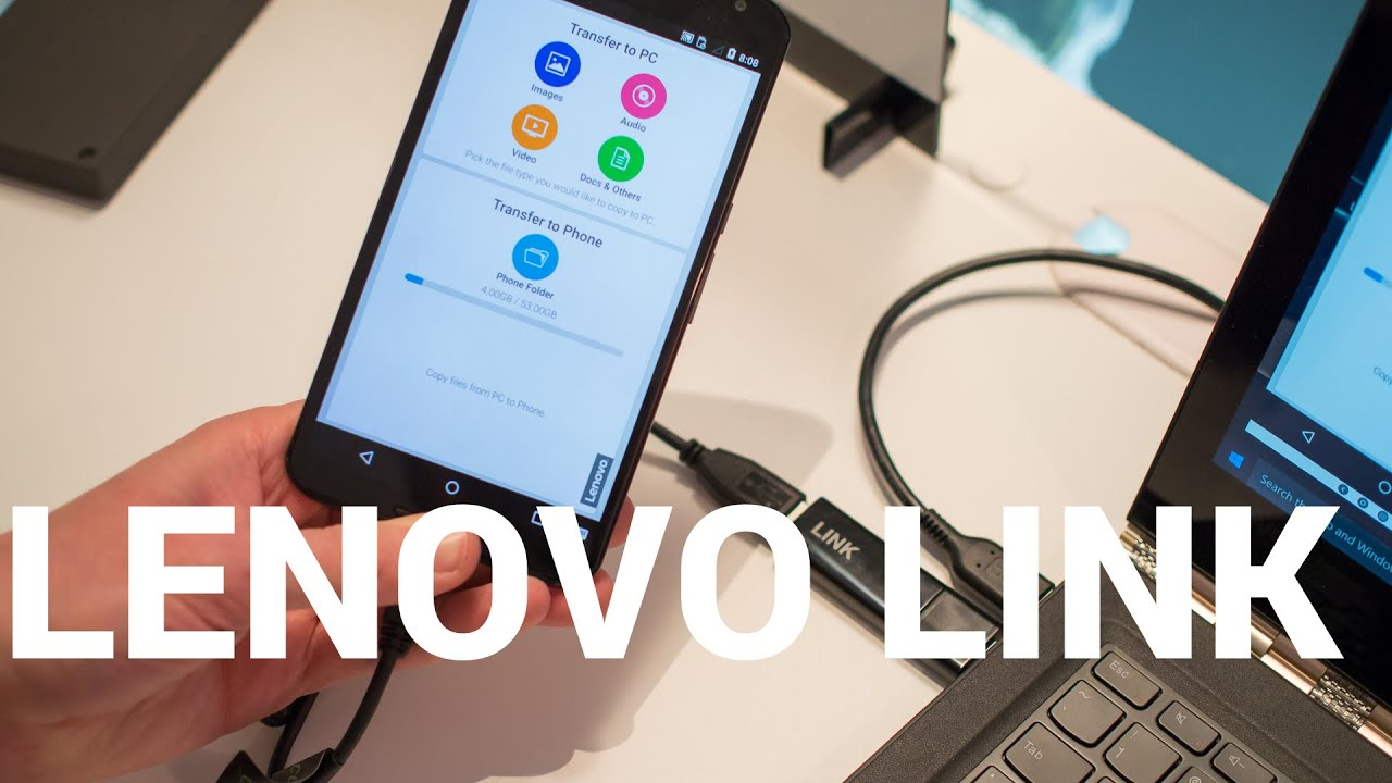 Lenovo LINK hands-on at CES 2016