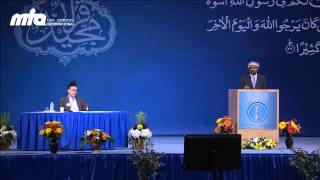 Sunnah -- the Best Model Leading to Divine Mercy and Love @ Jalsa Salana USA 2013