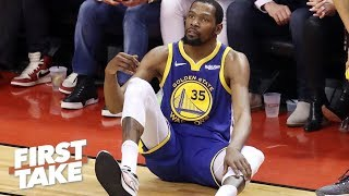 Kevin Durant might never be the same after his Achilles injury - Max Kellerman | First Take