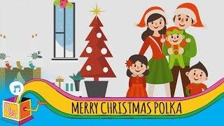 Merry Christmas Polka | Animated Lyric Video