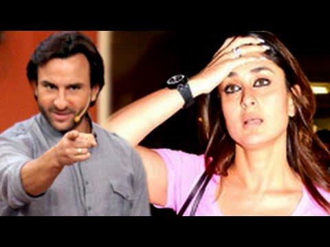 Saif Ali Khan MEAN To PREGNANT Kareena Kapoor