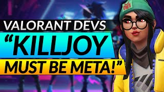 Valorant Devs: Killjoy MЏST BE META! NEW Patch 1.05 Changes and Leaks - Update Guide