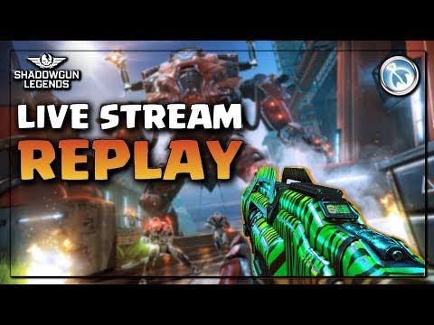 Drop Niko before the update plz?? - Shadowgun Legends gameplay LIVE STREAM