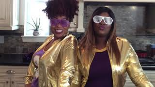 Coco and Lala vegan and vegetarian show hilarious highlight reel! Super dope!