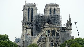 Notre Dame Fire Damage Seen By Daylight