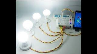 Bộ điểu khiển 4 thiết bị qua wifi, 3G (0965.668838)
