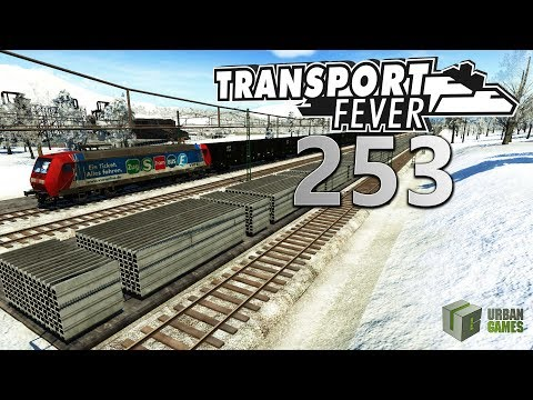 Frische Updates 🚆 ► [253] ► Let's Play Transport Fever German