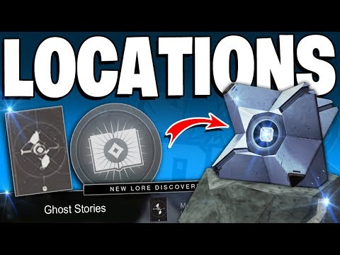 "Destiny 2 - All Dead Ghost Collectable Locations - ""Ghost Stories"" Lore Triumphs Full Guide"