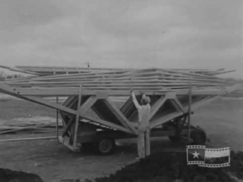 Building Of The Windsor Park Neighborhood- From Austin Our Town Historic Film