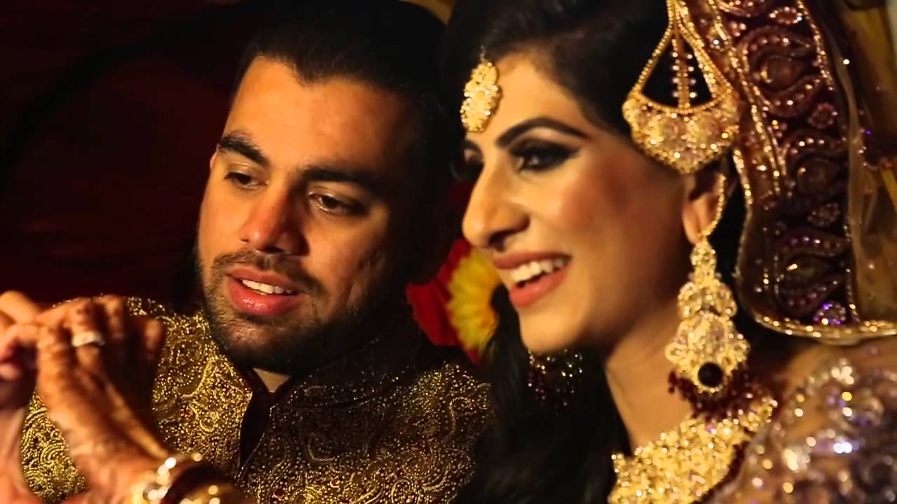 Asian Wedding Highlights Trailer 2016 Cinematic Helicopter Sana Sheraz You