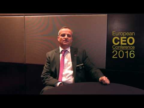 European CEO Conference 2016 - Pierre Verzat Interview