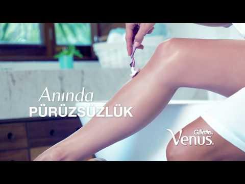 Gillette Venus ile #PürüzsüzGerçekler: Tıraş olmak cildi tahriş etmez!