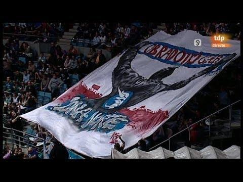 Miudiño partido Obradoiro Vs. Real Madrid (J22 ACB 13/14)