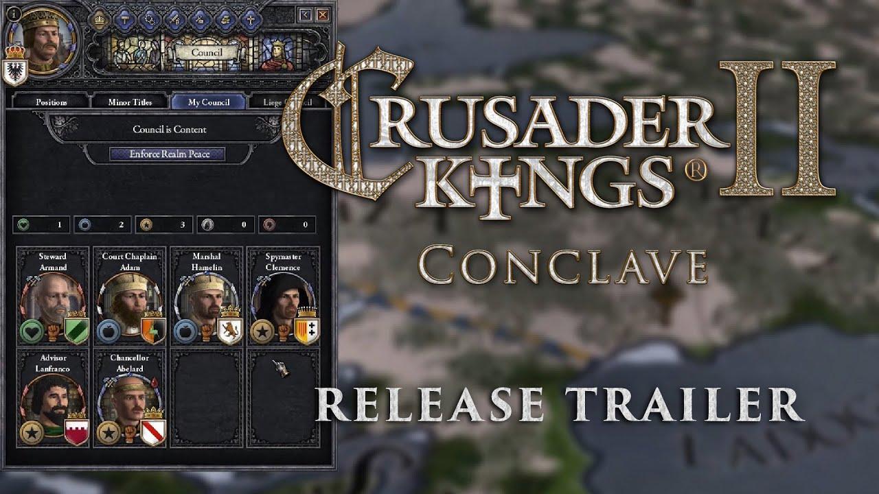 Crusader Kings II: Conclave Arrives, Toting Update | Rock Paper Shotgun