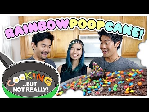 Thumbnail: Cooking, But Not Really: RAINBOW POOP CAKE!