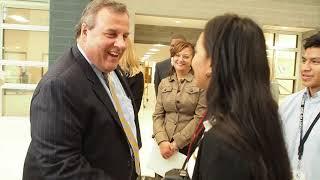 Essex County Executive invites former Gov. Christie to tour new techno