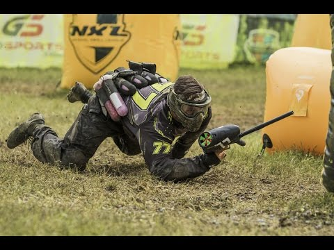 Awesome Pro Paintball Match: Dynasty Vs  Infamous at NXL Dallas