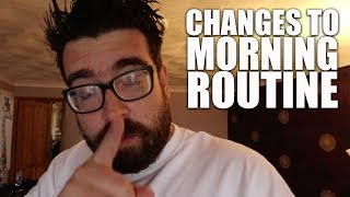 The TV schedule broke his morning routine! | Autism vlog