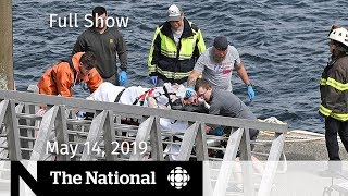 The National for May 14, 2019 Float Planes Crash, WhatsApp Hack, U.S.-Iran Tensions