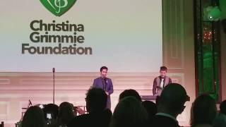 10/25/2017 - Sam Tsui & Kurt Schneider - Christina Grimmie Foundation - Far Video Angle