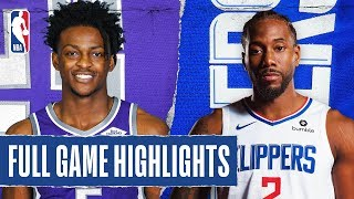 Gambar cover KINGS at CLIPPERS | FULL GAME HIGHLIGHTS | February 22, 2020