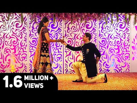 Nazm Nazm - Beautiful Couple Dance | Bride & Groom Dance | Natya social
