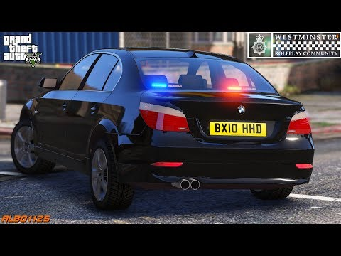 GTA5 Roleplay (Police) - Moped Pursuit & Supercar Stopped - Westminster RPC E5