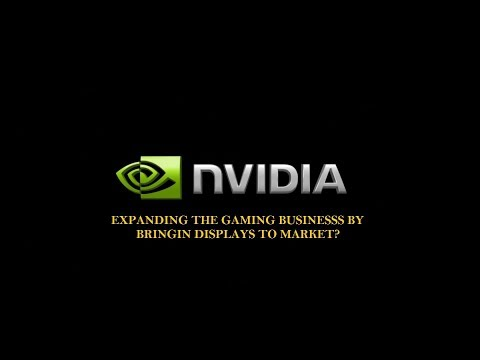 CES 2018: Nvidia to enter the Display Business?
