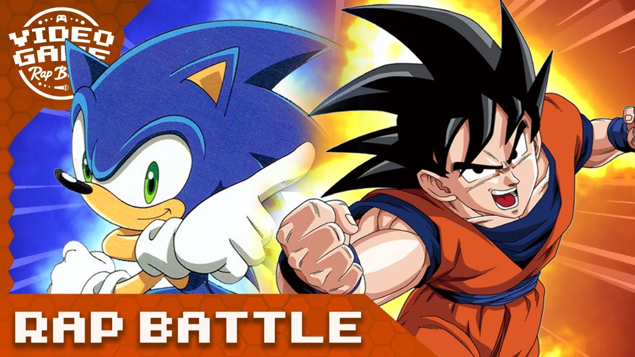 Goku vs. Sonic The Hedgehog - Rap Battle - download from YouTube for free