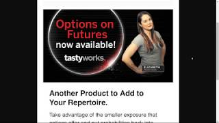 Tastyworks Options on Futures compared to TD Ameritrade comparison broker fees review