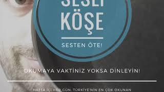 Sesli Köşe 18 Ocak 2019 Cuma - Zafer Arapkirli: ''Değişim 'İzmir işi torba' ile olmaz''