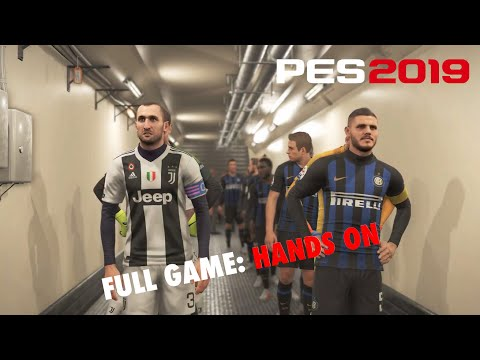 PES 2019 Full Game Hands On: Inter v Juventus