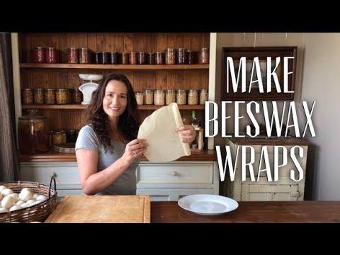 Make Beeswax Wraps - No more Plastic Wrap