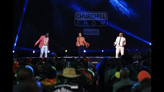 Wahu Performs Live On Churchill Show
