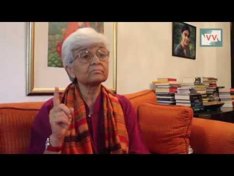 Feminist Activist, Kamla Bhasin Talks to Video Volunteers